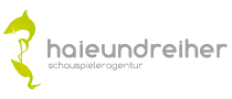 Logo Haie und Reiher Schauspieleragentur
